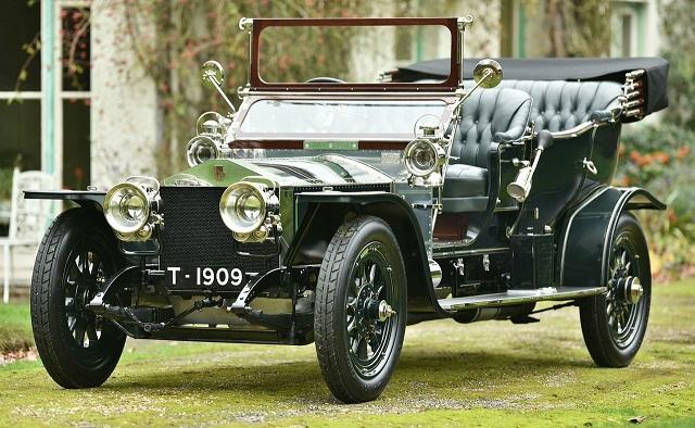 Rolls Royce Silver Ghost год производства 1909