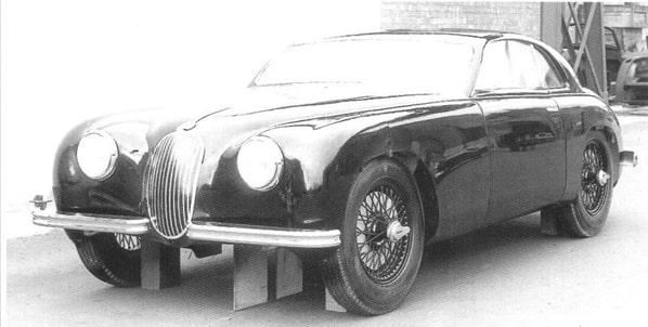 Jaguar Mk 1 first 2-door prototype