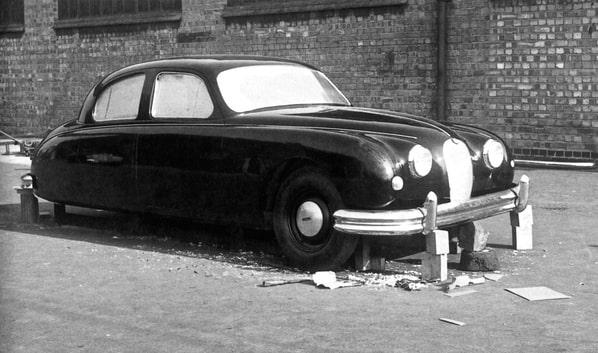 Jaguar Mk 1 first 4-door prototype