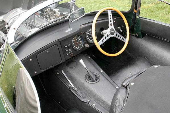 Jaguar XK SS interior