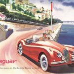 Jaguar XK140 magazine brochure