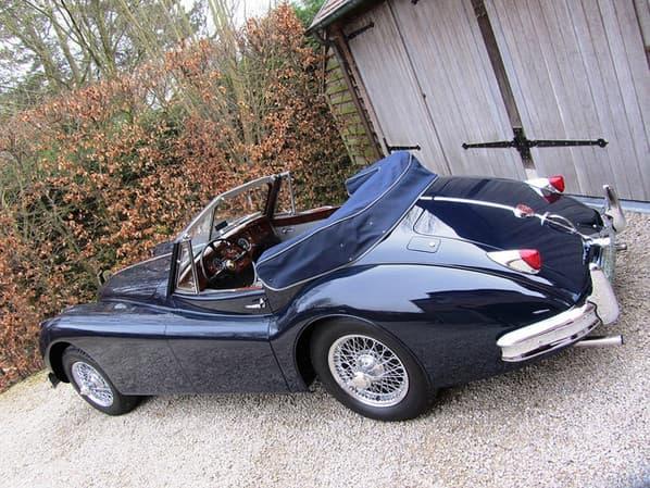 Jaguar XK140 The Convertible