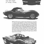 Jaguar XKSS - The Motor 1957