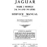 Jaguar Mk 2 Service Manual