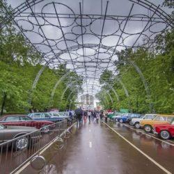 Фестиваль ретро-автомобилей в Сокольниках