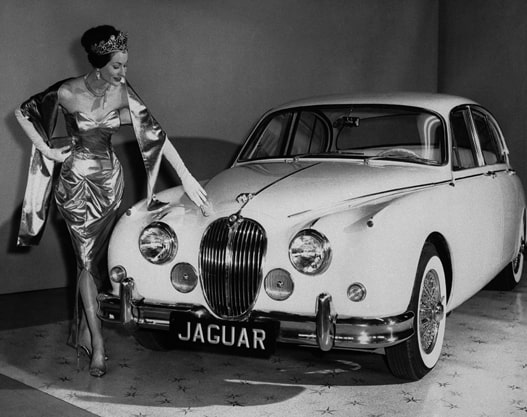 Gold Jaguar Mark 2 1960