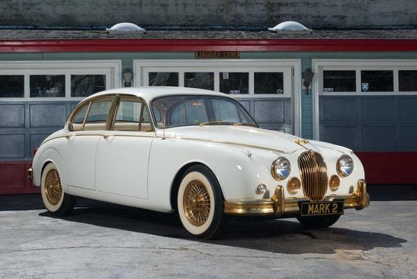 Gold Jaguar Mark 2
