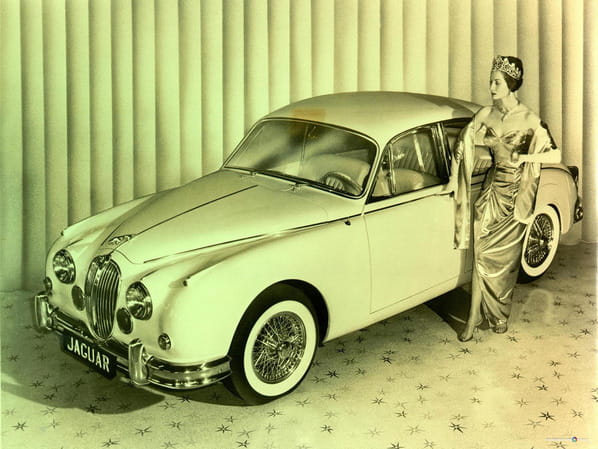 Gold Jaguar Mk 2 1960