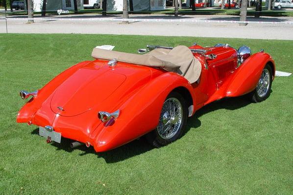 Jaguar 100 Saoutchik Roadster