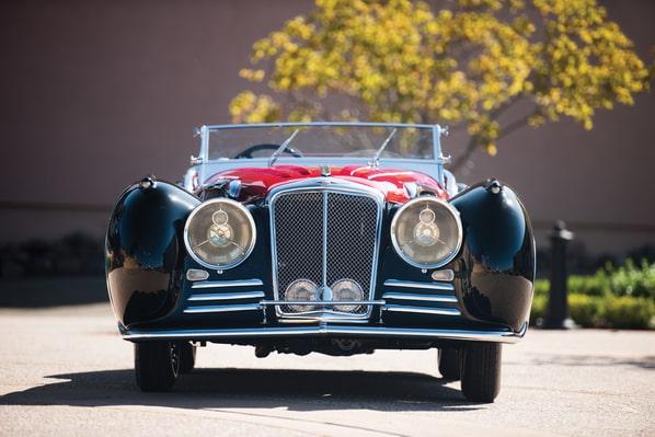 Jaguar 100 Van den Plas