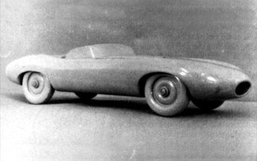 Jaguar E1A prototype