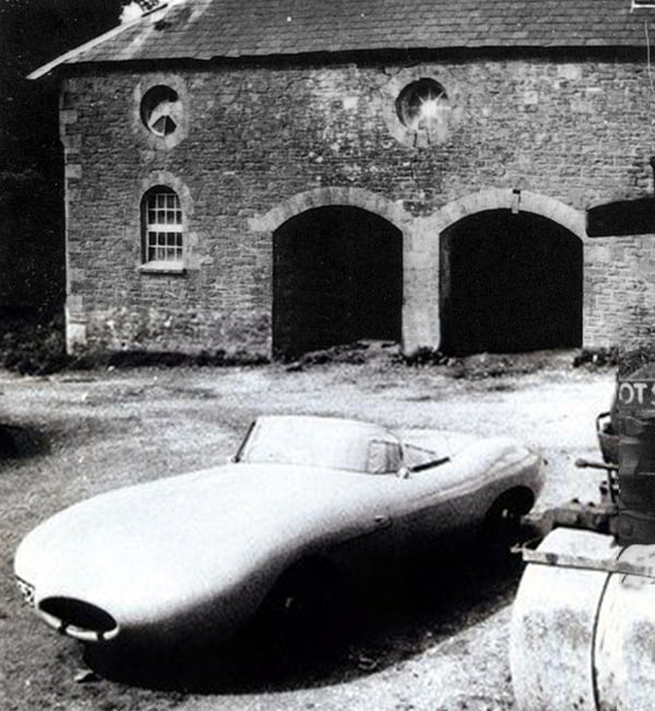 Jaguar E1A rare photo