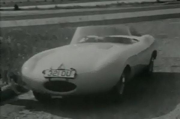 Jaguar E1A test drive