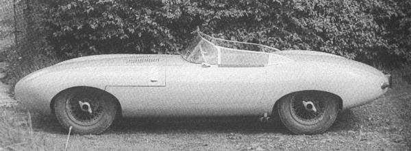Jaguar E1A test model