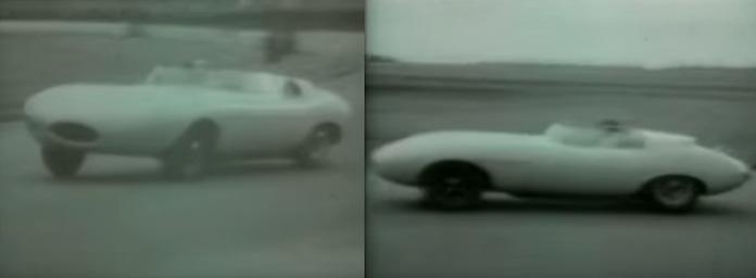 Jaguar E2A early prototype