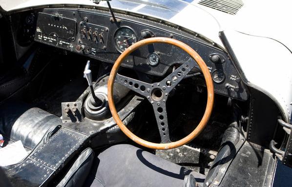 Jaguar E2A interior