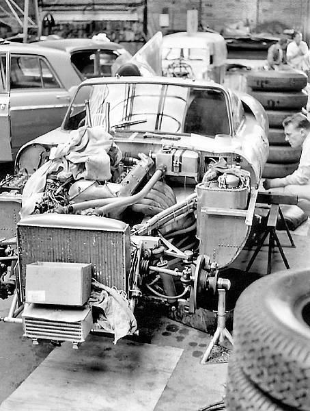 Jaguar E2A on factory