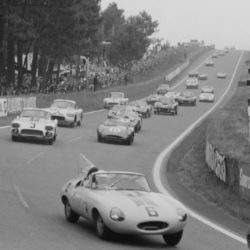 Jaguar E2A on track