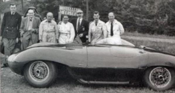 Jaguar XP/11 Jabbeke 1953