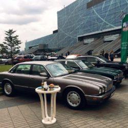 Несколько автомобилей Jaguar