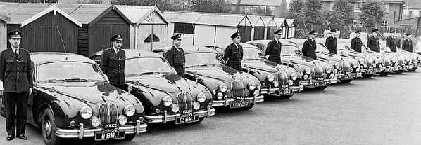 Police Jaguar Mark 2
