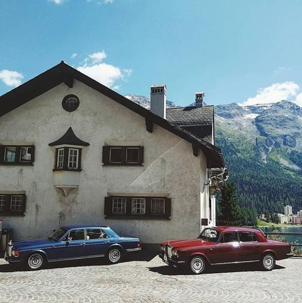 Rolls Royce в горах