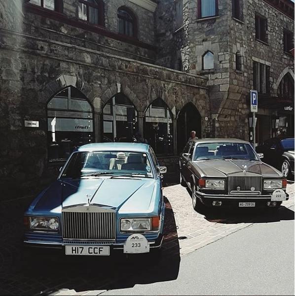 Rolls Royce в Швейцарии