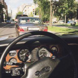 Руль автомобиля Daimler