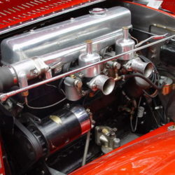 SS 100 Saoutchik Roadster engine