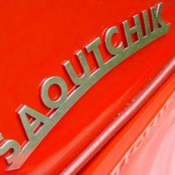 SS Jaguar 100 Saoutchik Roadster logotype