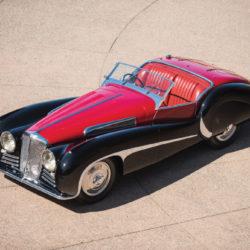 SS Jaguar 100 Van den Plas 1939