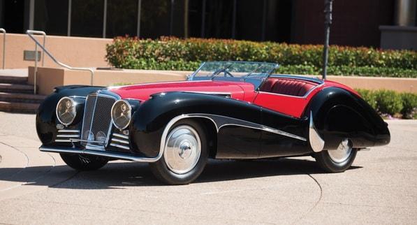 SS Jaguar 100 Van den Plas
