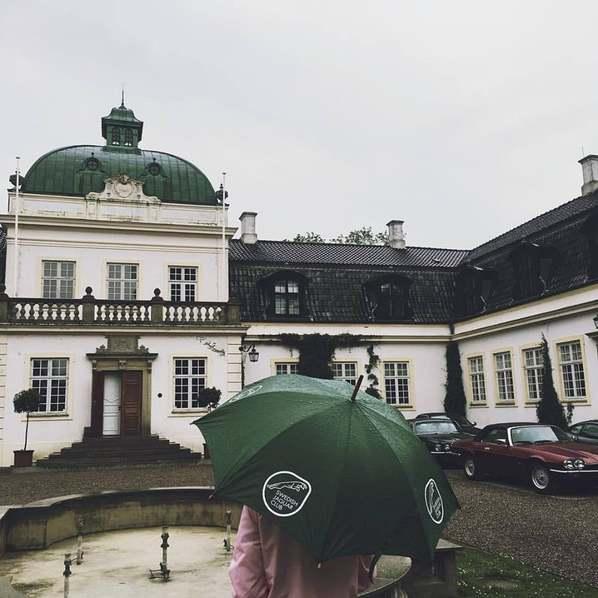 Зонт с логотипом Jaguar