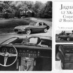 Jaguar XK-E 4.2 Coupe and Roadster (B-W) 1966