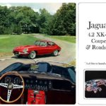 Jaguar XK-E Coupe and Roadster broshure 1966