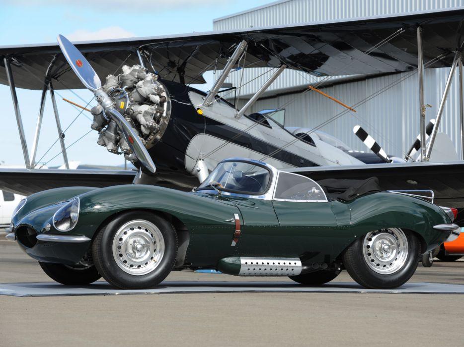 Истребитель Spifire и Jaguar XKSS