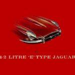 The 4.2 Litre E-Type Jaguar (red cover) 1968