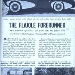 Flajole Forerunner unknown article