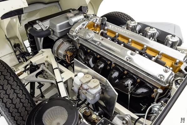 Jaguar E-Type Series 1 OTS engine