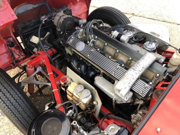 Jaguar E-Type Series 1.5 engine