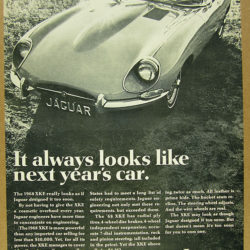 Jaguar E-Type Series 1.5 - It always looks like next years car