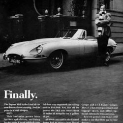 Jaguar E-Type Series 1.5 magazine article