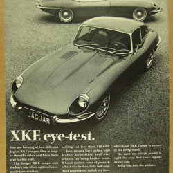 Jaguar E-Type Series 1.5 - XKE eye test