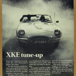 Jaguar E-Type Series 1.5 - XKE tune up