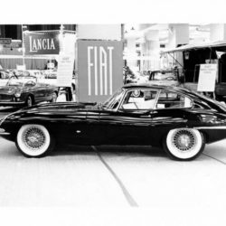 Jaguar XK-E Coupe on New-York International Auto Show 1961