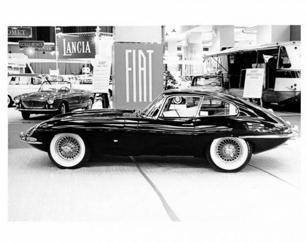 Jaguar XK-E Coupe on New-York International Auto Show 1961