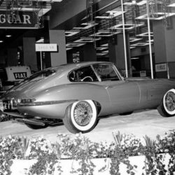 Jaguar XK-E on New-York International Auto Show 1961