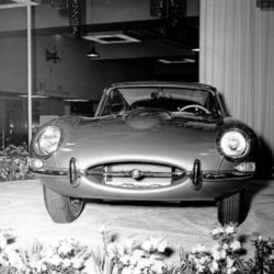 Jaguar XK-E on New-York International Auto Show