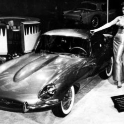 Jaguar XK-E on New-York International Auto Show - April 1961
