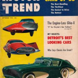Motor Trend September 1955 - Flajole Forerunner